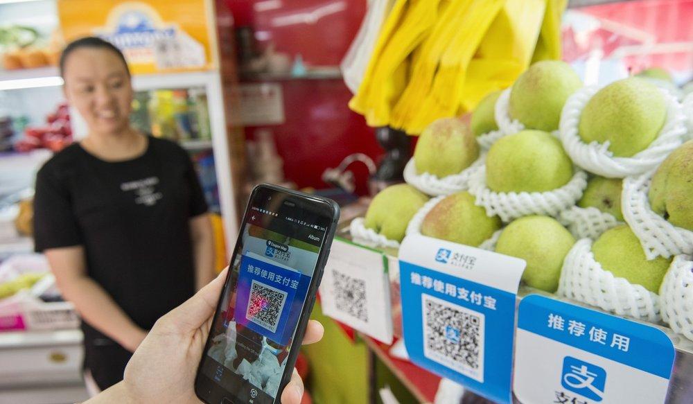 Un simple scan de QR code Alipay pour régler ses achats