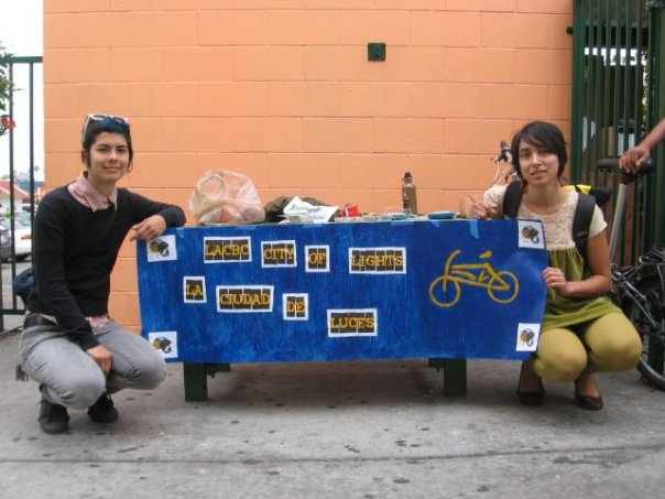 CoL co-founders Allison Mannos and Adonia Lugo at CARECEN in 2009