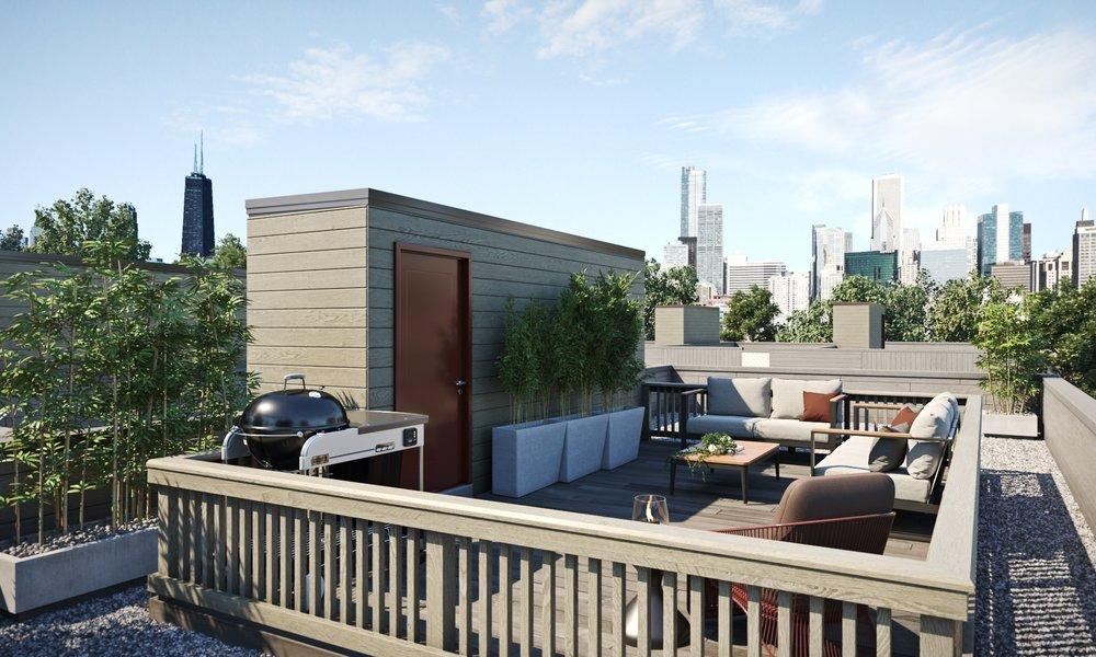 Exteriors - 2-car garage (per plan)Roof deck (optional per plan)