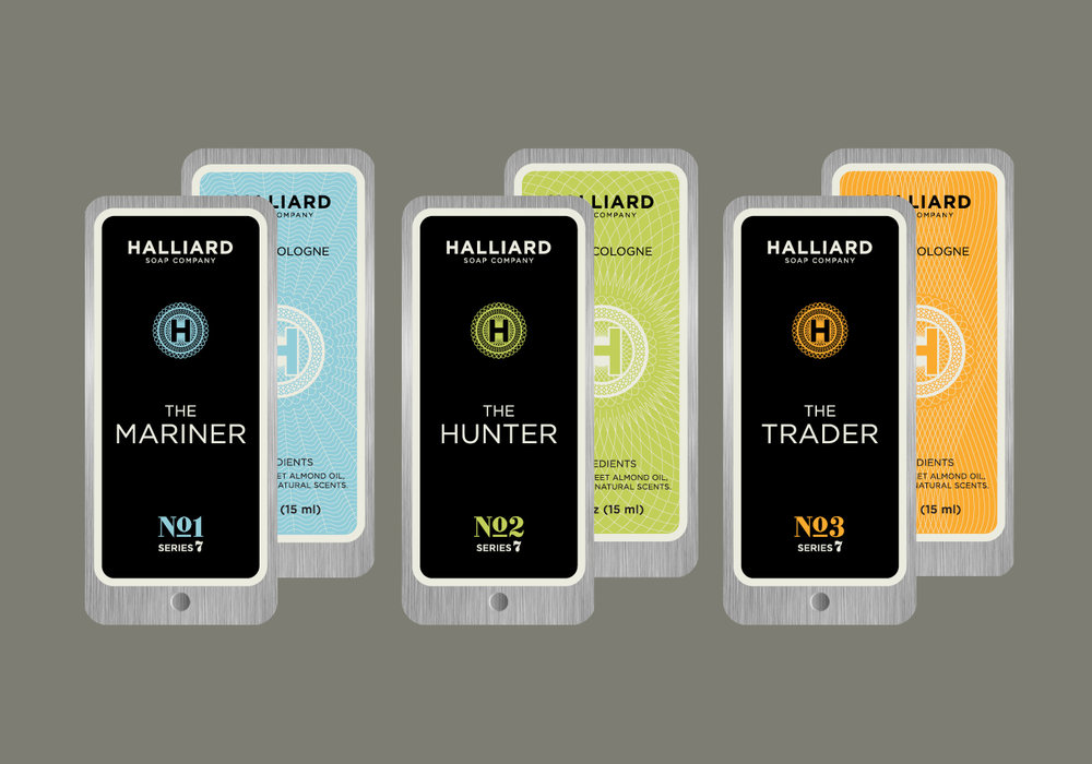 Halliard Soap Company Packaging