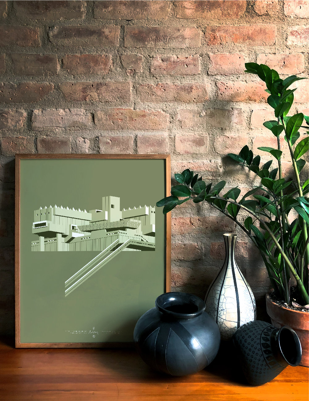 Brutalist PRINTS - LMT EDT 50 SIGNED & NUMBERED