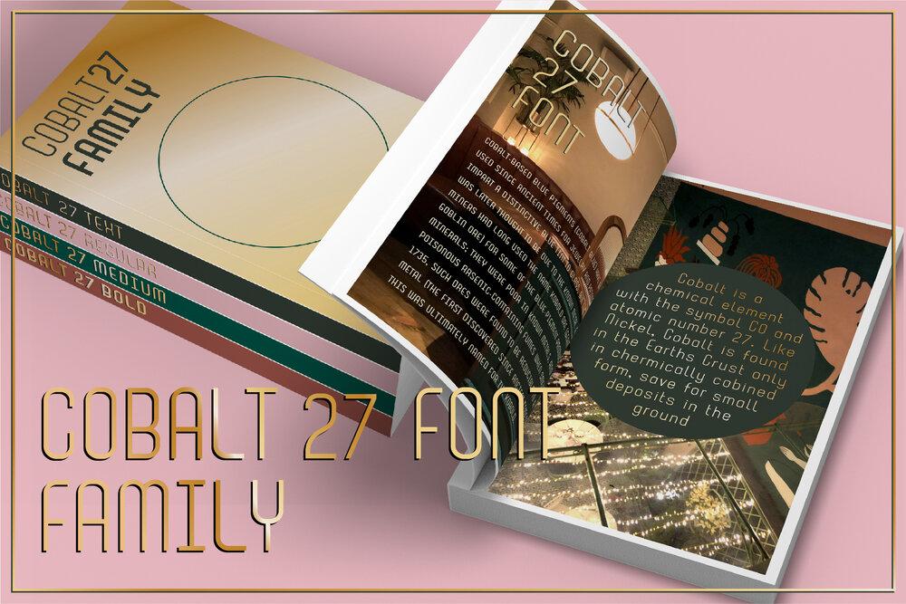 Cobalt 27 Font