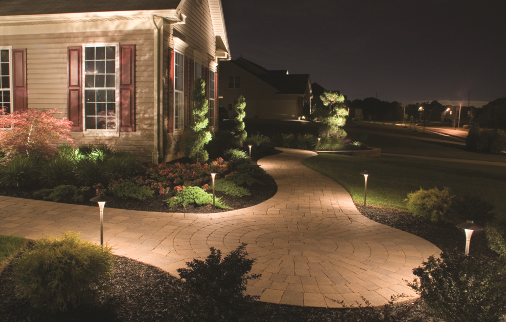 Outdoor lighting landscape contractors in Northbrook, Glenview, IL