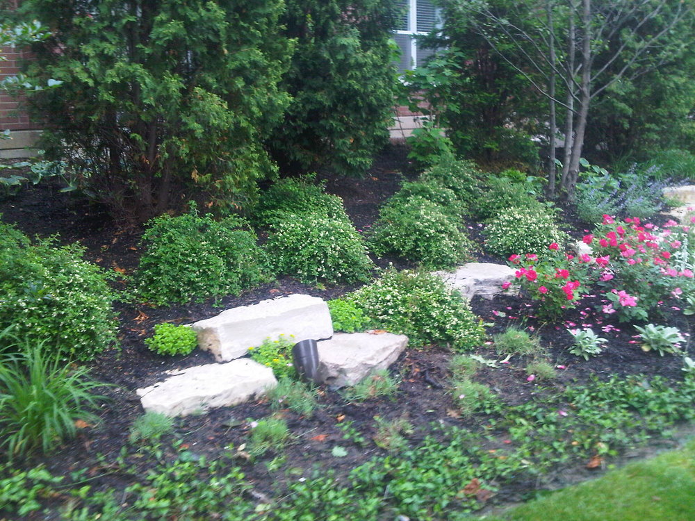 Landscape design with plantings and top lawn care service Northbrook, IL