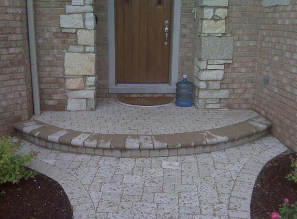 Unilock contractor patio pavers, landscape design in Nortbrook, Glenview, Buffalo Grove, IL