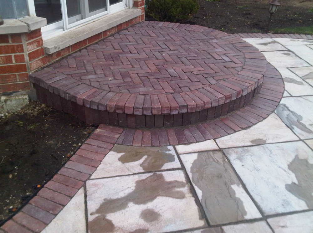 Patio pavers by Unilock cotnractor in Nortbrook, IL