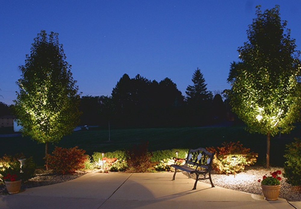 Landscape contractors with top outdoor lighting in Northbook, Glenview, Buffalo Grove, IL