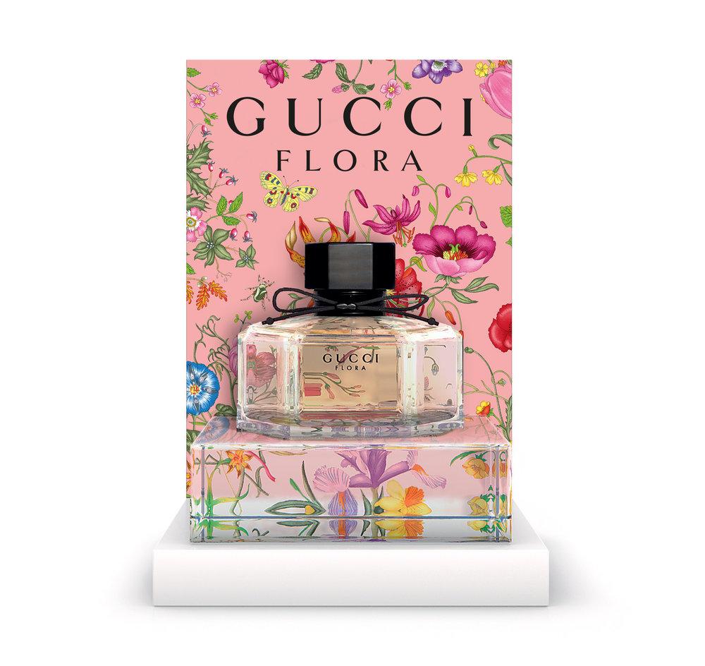 Digital Visualisation for Gucci Flora