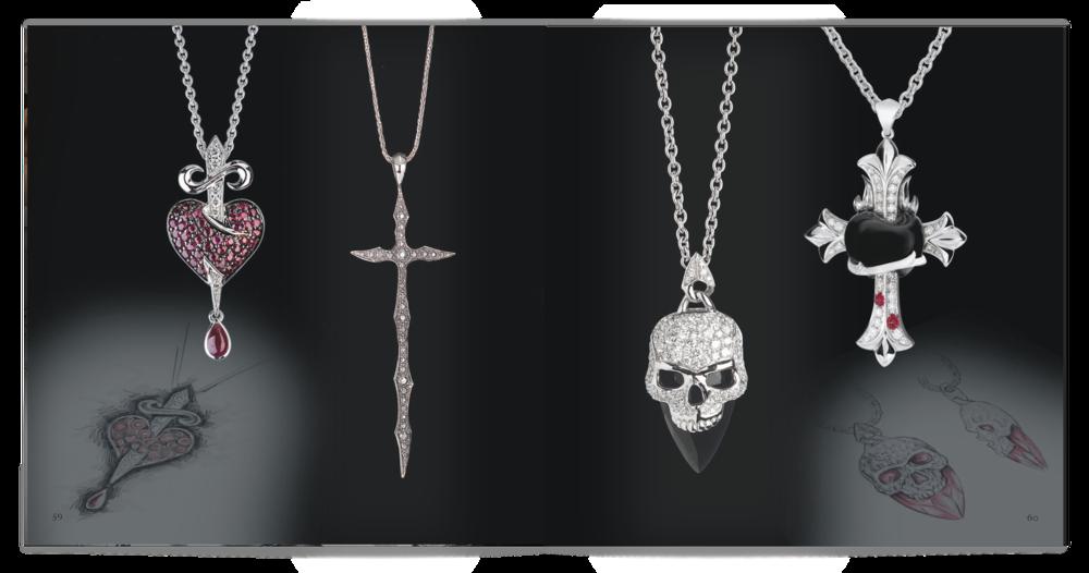 Design & artwork for Fine Jewellery Brochure