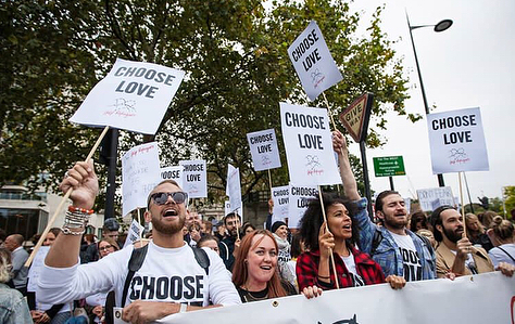 RT @helprefugeesuk see you there #chooselove