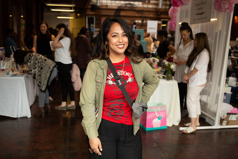 Stephanie Archayena, Expressive Arts Coordinator of Sol Sisters . Photo by Tumay Aslay