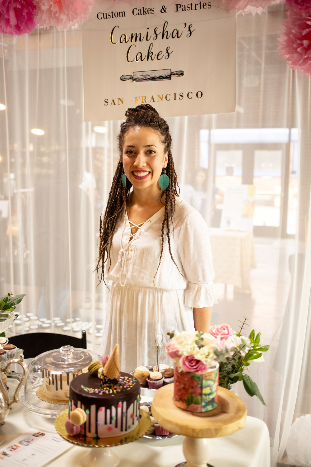 Camisha Green, owner of Camisha Cakes. Photo by Tumay Aslay.