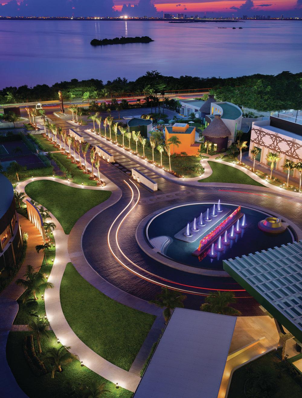 HRH Cancun Exterior_Aerial 041913.Jpg