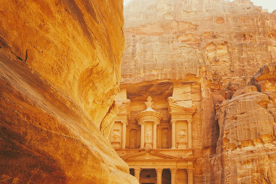 "Al-Khazneh ""The Treasury,"" Petra, Jordan"