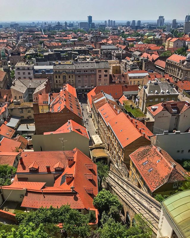Many people have heard of Dubrovnik, but do you know about Zagreb, Croatia's capital? Zagreb is a city where historic beauty meets modern efficiency. It is filled with vibrant culture and stunning views like this one, from the top of Lotrščak Tower. If you're planning a trip to Croatia, don't miss out on this fun city.