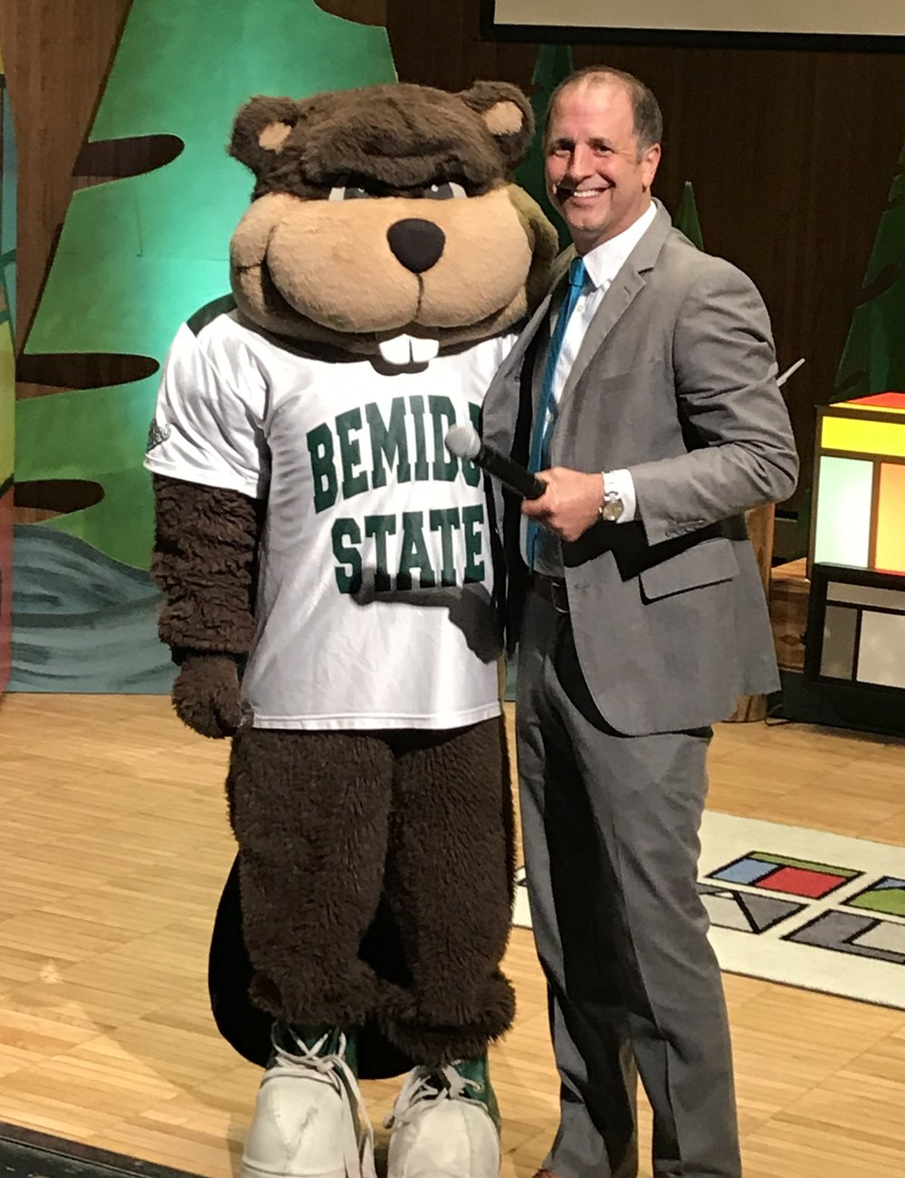 Acker is an adjunct faculty member at Bemidji State University