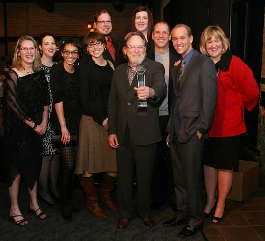 EXHIBITOR magazine wins Magazine of the Year at last year's Excellence Awards ceremony