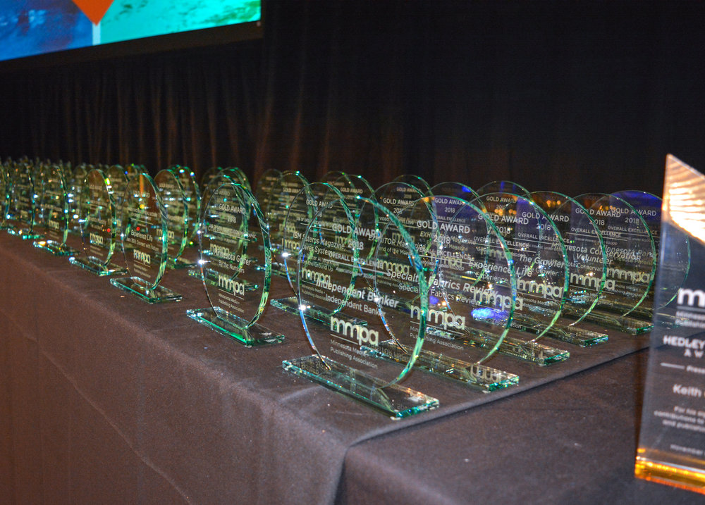 The coveted MMPA Excellence Awards