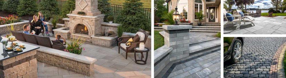 Improve your brick driveway with Unilock financing in Burr Ridge, IL