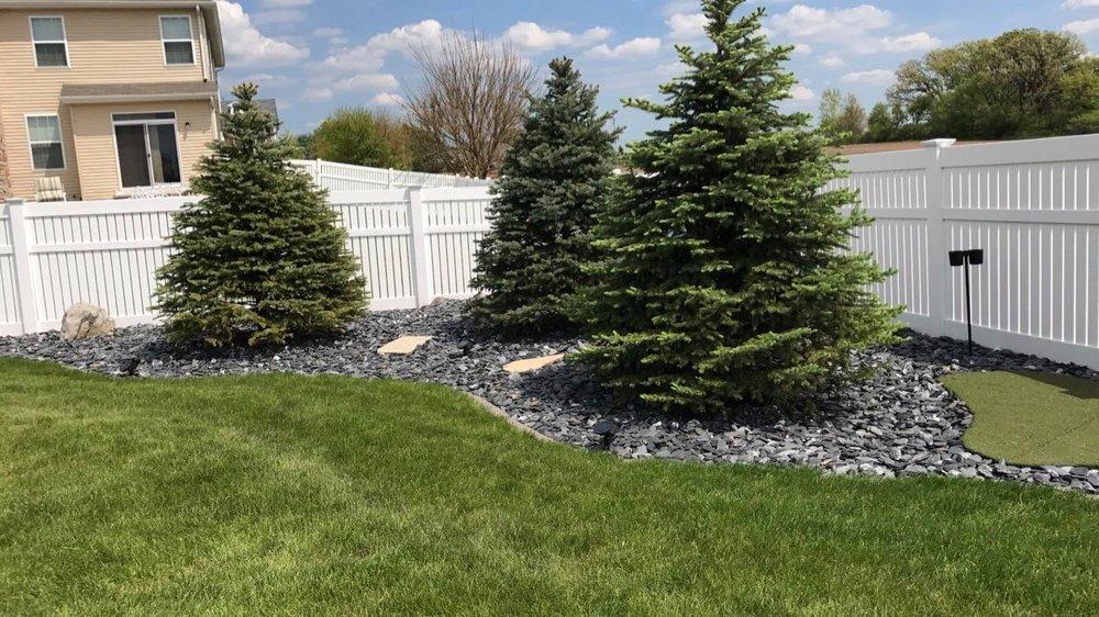 Beautiful grass after sod installation in Glen Ellyn, IL