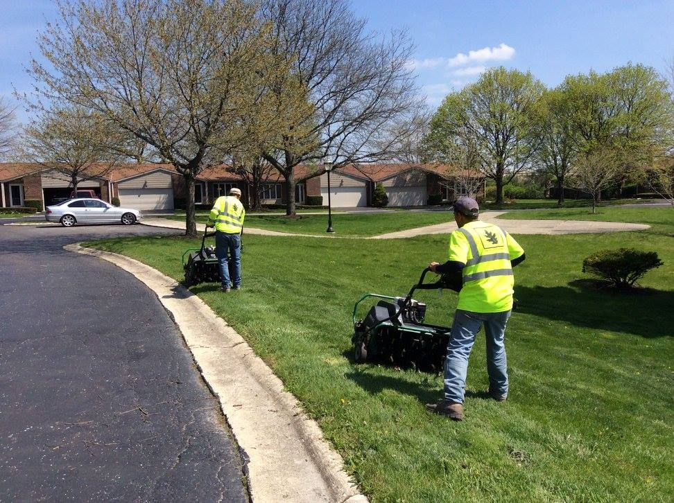 Commercial landscaping maintenance in Naperville, IL