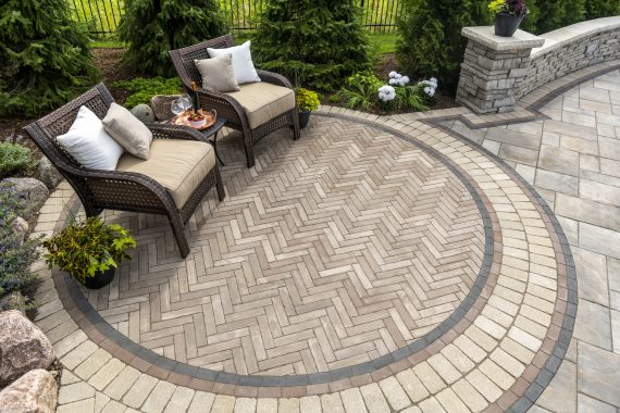 Paver Patterns Commercial Landscaping Naperville Il Brick