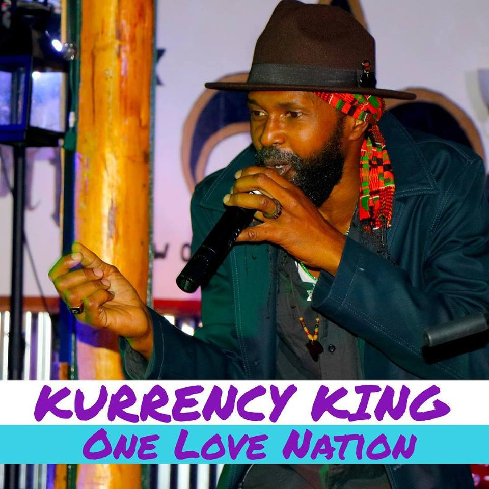 Kurrency King & One Love Nation - International performing artists Glen Anderson, better known as Kurrecny King hails from St. Mary Jamaica and brings his unique spiritually provoked music to his fans all over the globe and is currently residing in Northern California. On his musical journey, beginning in the early 90s, Kurrency king has recorded and performed with artists such as with Luciano and Papa Curvin; King Hopeton and many more. performing at schools, festivals, and local venues. Kurrency king mission is to bring forth the current of love and light with some dance vibes and positive energy.