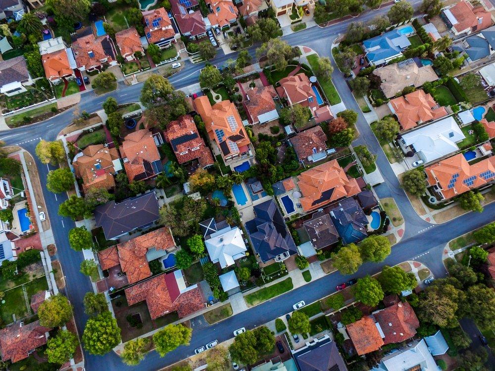 Aerial Photo of Neighborhood