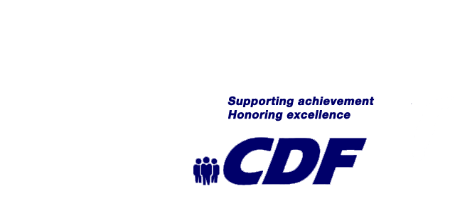 CDF: Supporting Achievement, Honoring Excellence