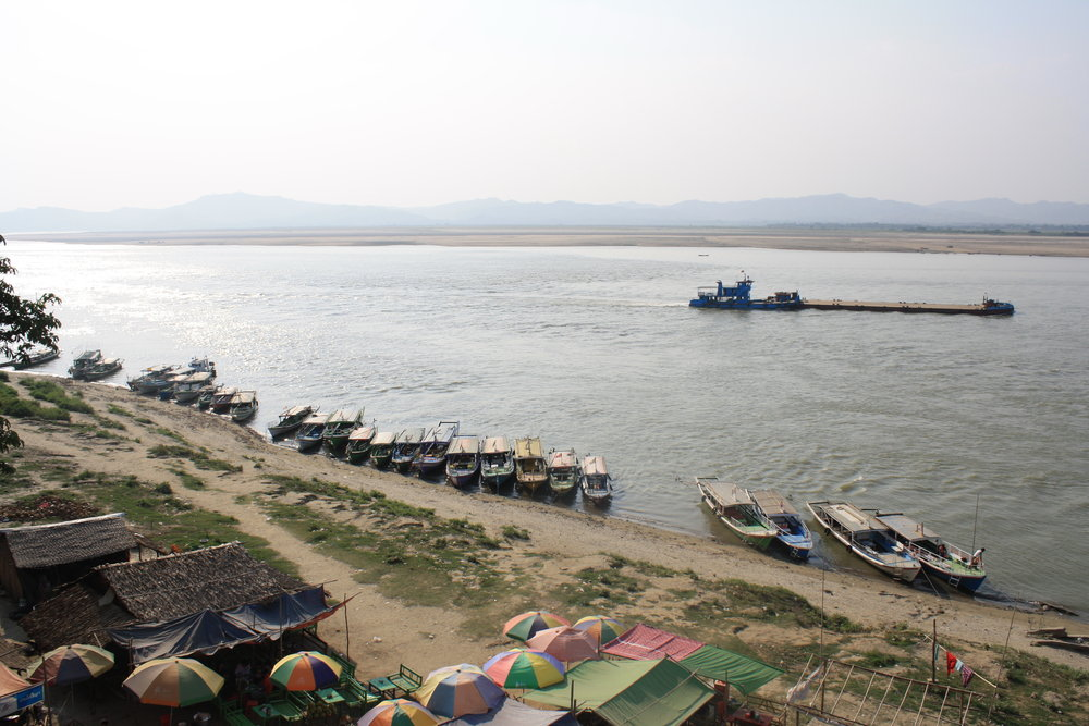 The Ayarwaddy River