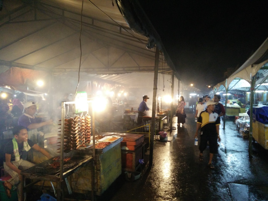 Kota Kinabalu's night market