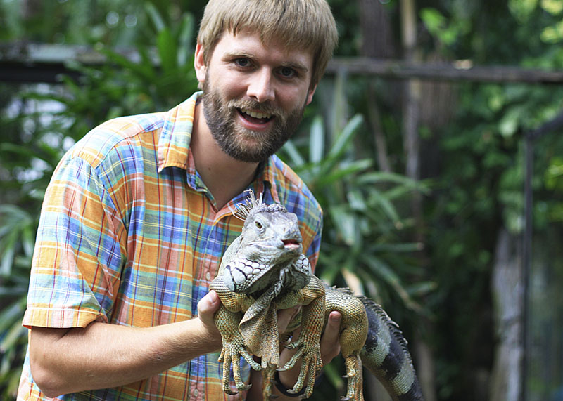 Jim and the Iguana
