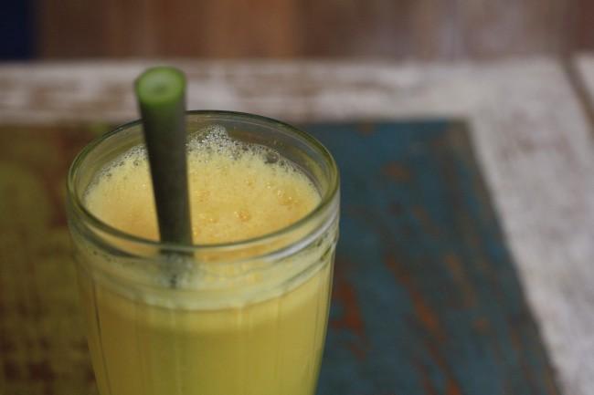 Fresh juice in Ubud, Bali