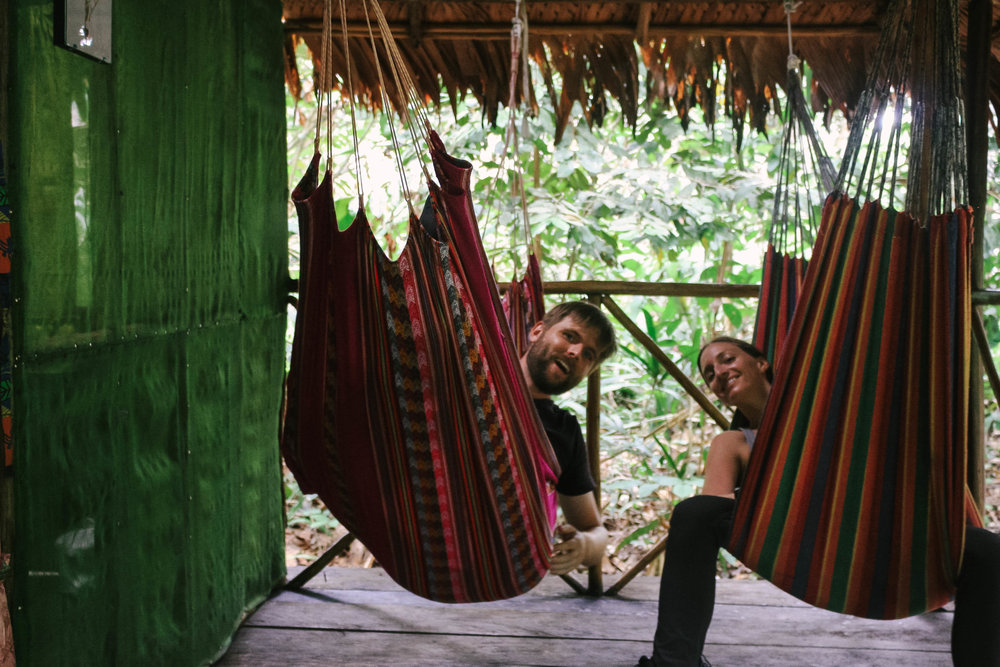 Two nights/three days without computers, wifi, phones, data, or electricity–hiking in the Amazon.