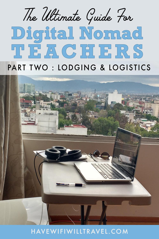 Digital Nomad Teacher guide
