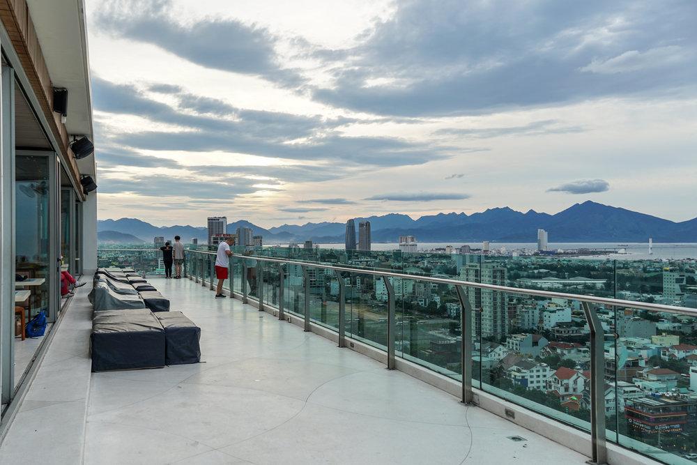 Da Nang rooftop bar