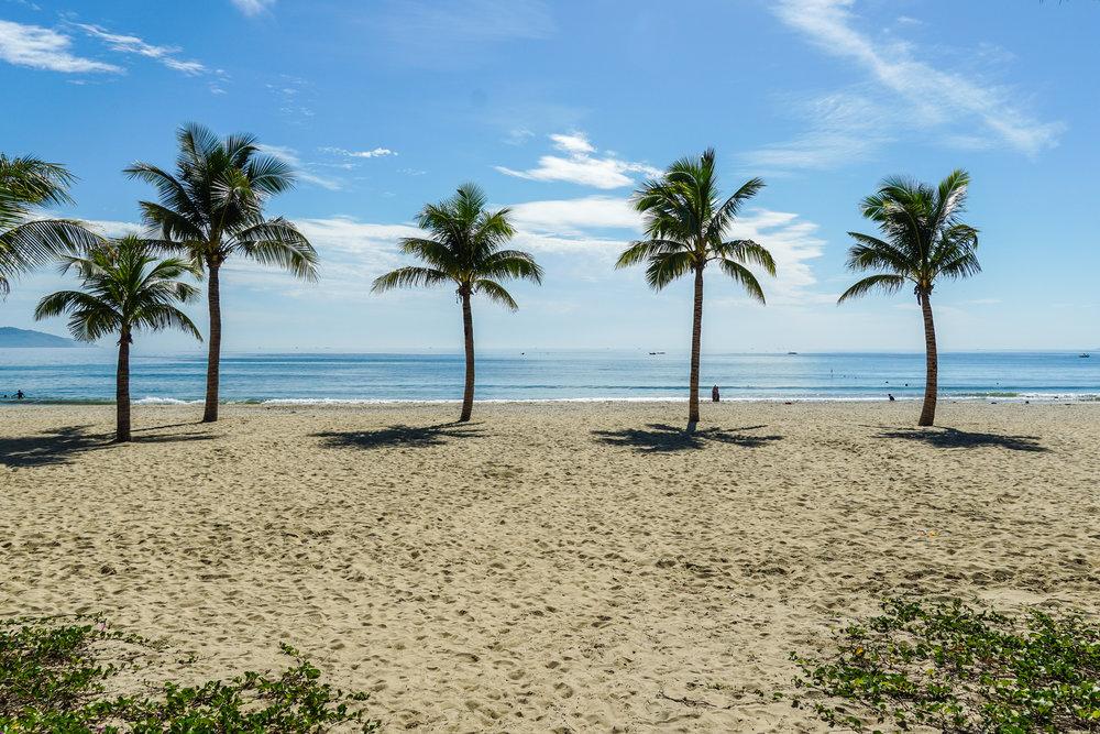Beautiful beaches of da nang