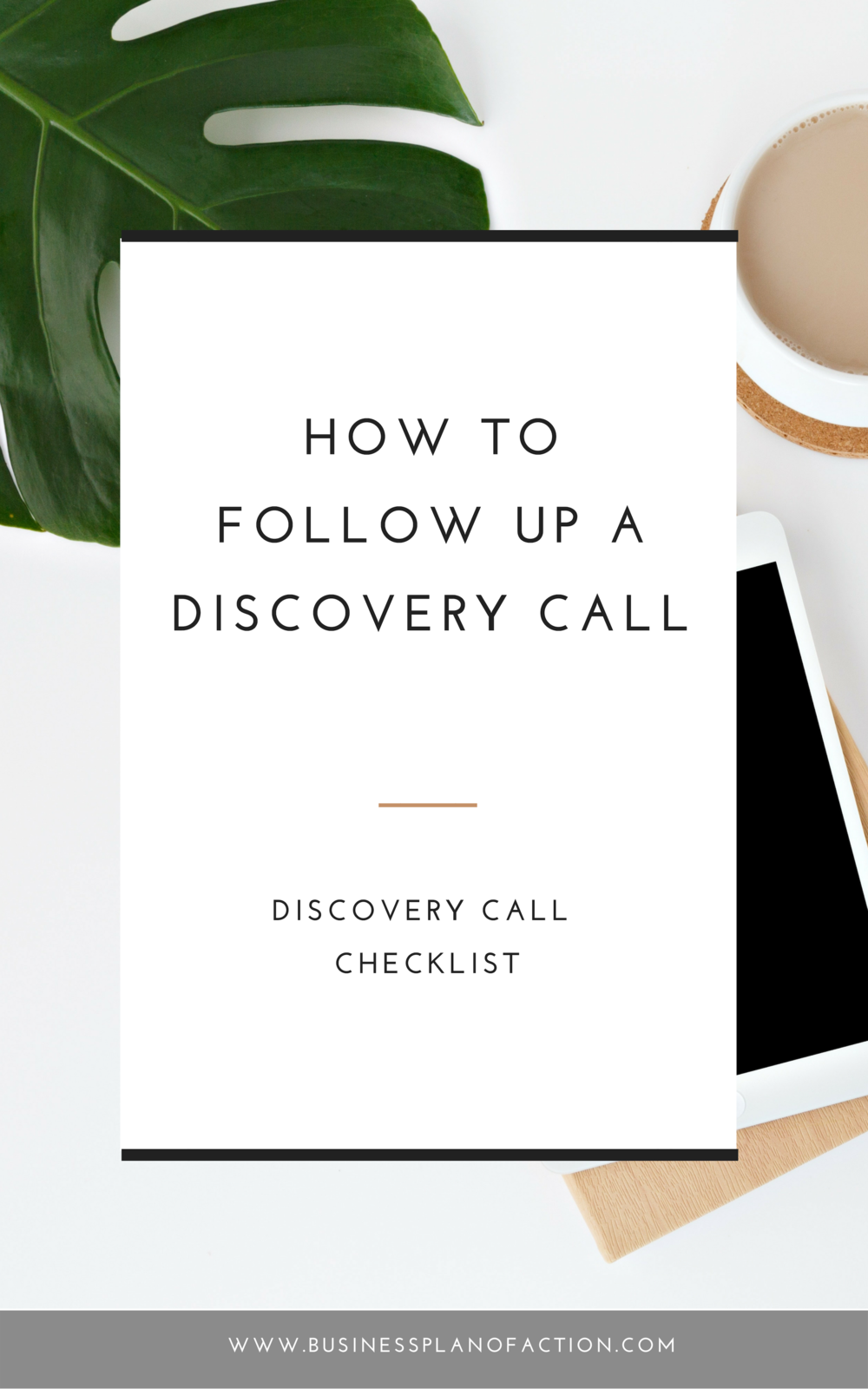 In today's episode I share three steps to following up with your potential client after a discovery call. Be sure to grab the ultimate marketing tracker I mention by reading more here https://businessplanofaction.com/How-to-Follow-Up-a-Discovery-Call
