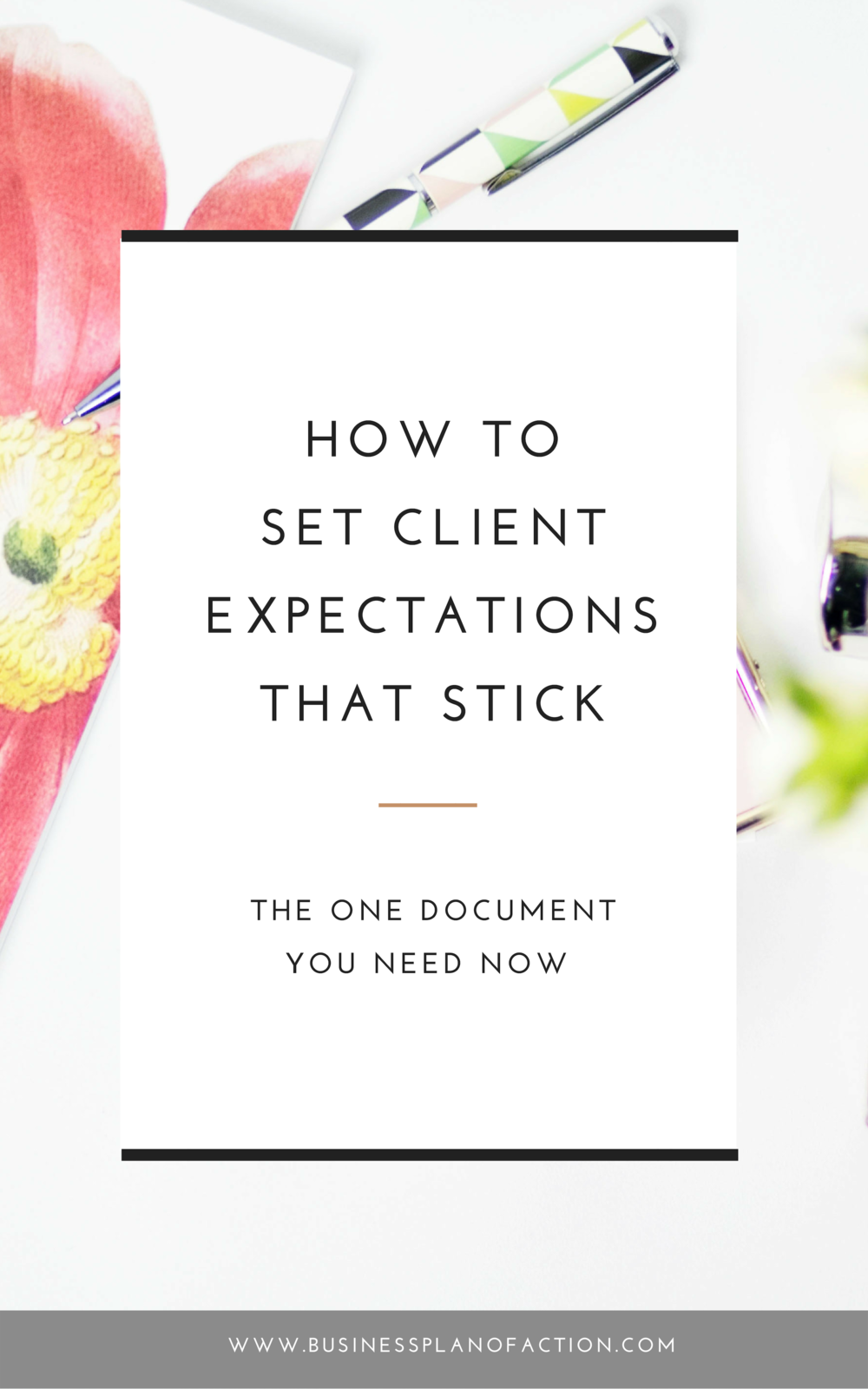 When you're working 1:1 with clients, you need to set client expectations that are clear and that stick. Here, five big topics to focus on.
