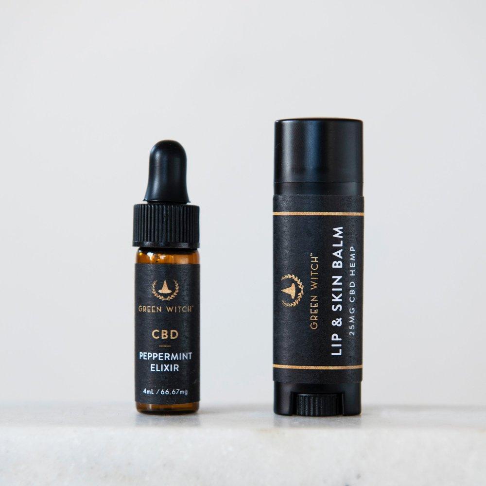 Mini Elixir & Lip and Skin Balm -