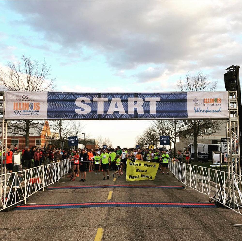 Illinois Marathon -