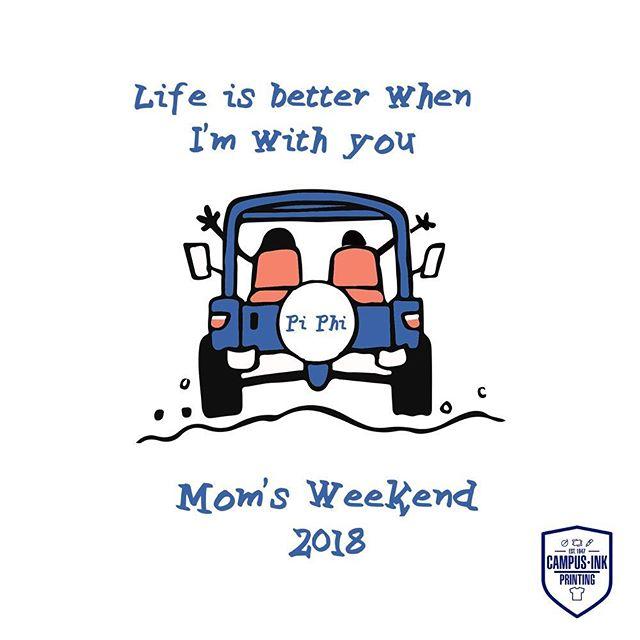 Pi Phi mom's #momsweekend #piphi