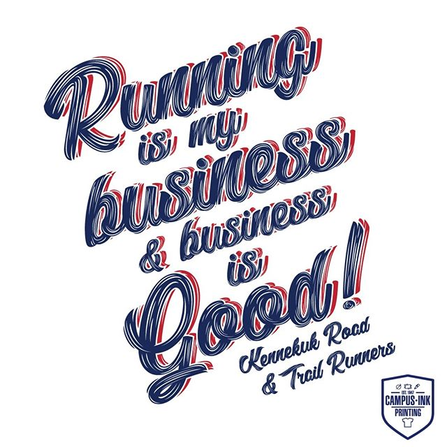 Running is my Business and Business is Good! #kennekukroadrunners #kennekuk #Running