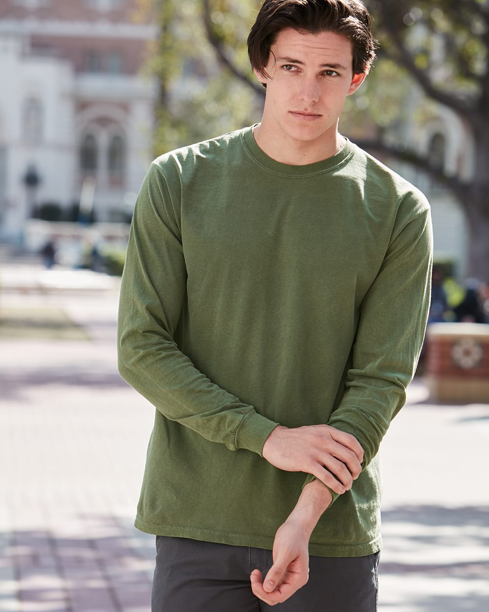Comfort Colors Heavyweight Ringspun Long Sleeve Shirt