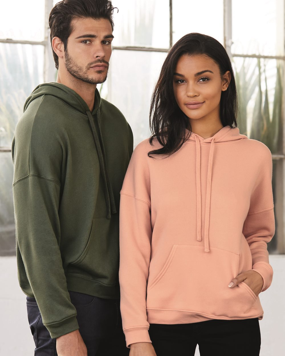 Bella + Canvas Unisex Sponge Fleece Pullover Sweatshirt