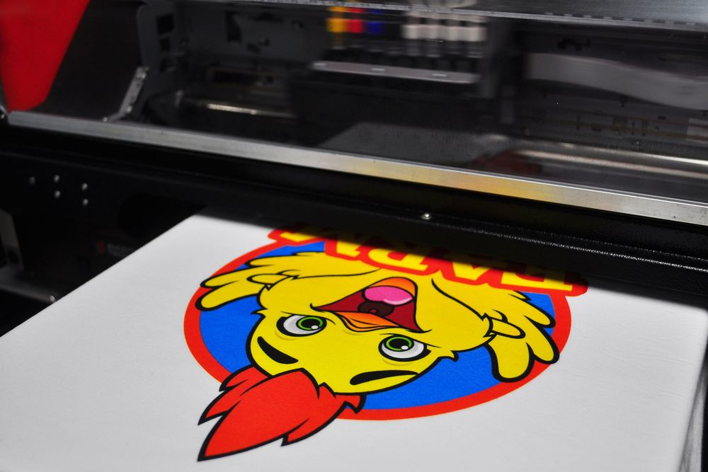 Direct To Garment — Campus Ink - Custom T-shirts & More