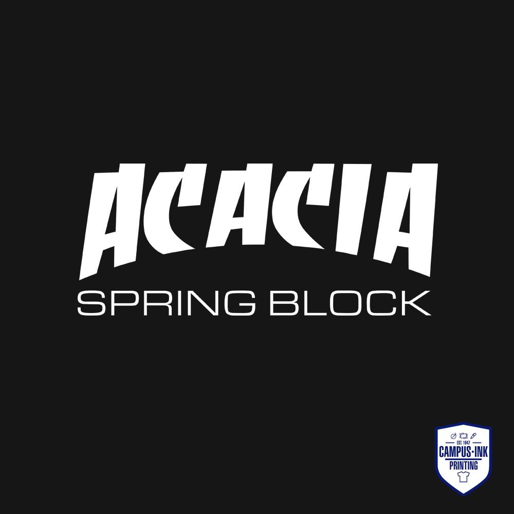 Spring Block Acacia