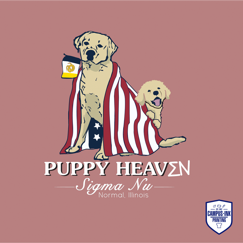 Puppy Heaven Sigma Nu