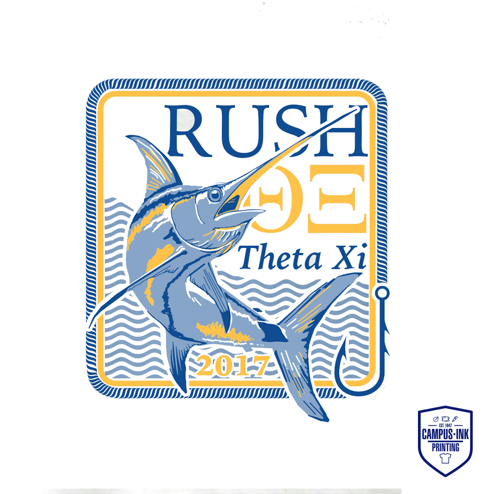 Theta Xi Rush Fish