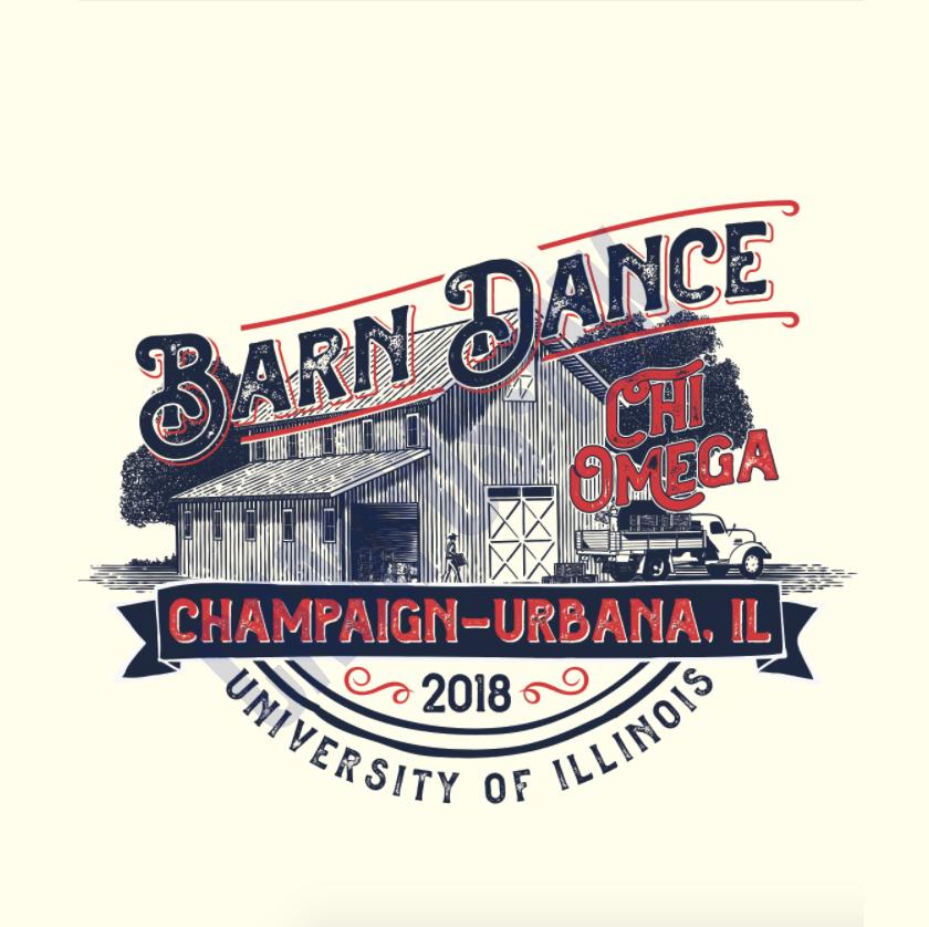 Chi Omega Barn Dance